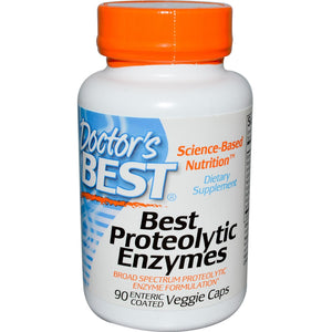 Doctor's Best Best Proteolytic Enzymes 90 Enteric Coated Caps