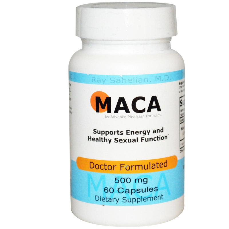Advance Physician Formulas Inc. Maca 500 mg 60 Capsules