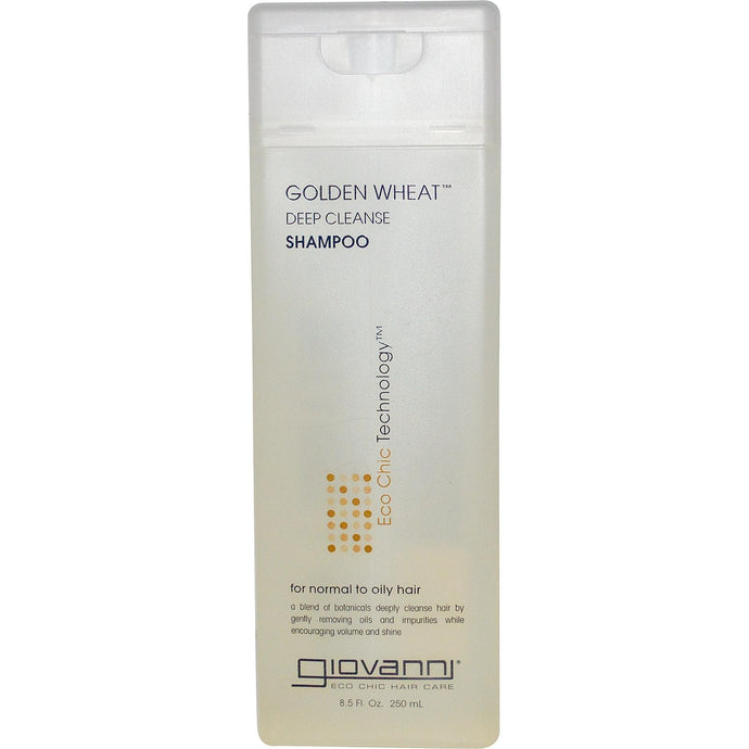Giovanni Golden Wheat Deep Cleanse Shampoo 250 ml 8.5 fl oz