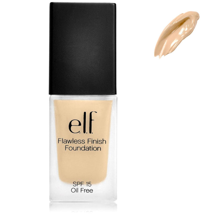E.L.F Cosmetics Flawless Finish Foundation SPF 15 Oil Free Porcelain 23 g 0.8 oz