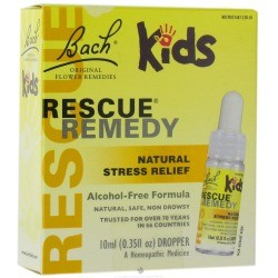 Bach Original Flower Essences for Kids Natural Stress Relief Alcohol Free Formula Dropper 10 ml 0.35 fl oz