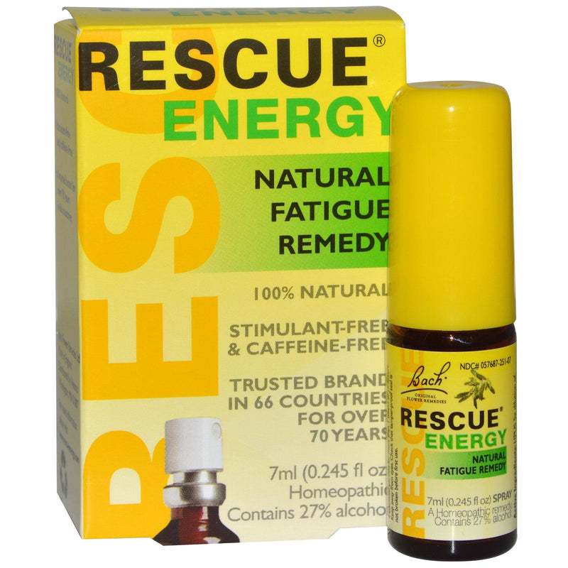 Bach Original Flower Essences Rescue Remedy Natural Fatigue Remedy 7 ml 0.245 fl oz