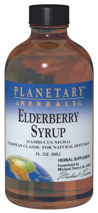 Planetary Herbals, Elderberry Syrup, 236.56 ml, 8 fl oz