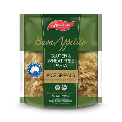Buontempo Rice Spirals, 500 g