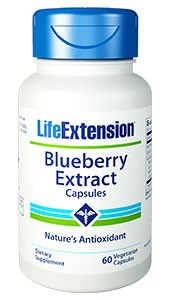 Life Extension Blueberry Extract with Alaskan Blueberries 60 Caps