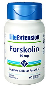 Life Extension Forskolin 10mg 60 VCaps - Dietary Supplement