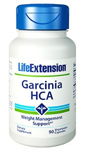 Life Extension Garcinia HCA 90 VCaps - Dietary Supplement