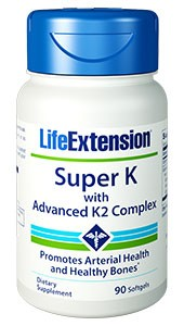 Life Extension Super K with K2 Complex 90 Softgels