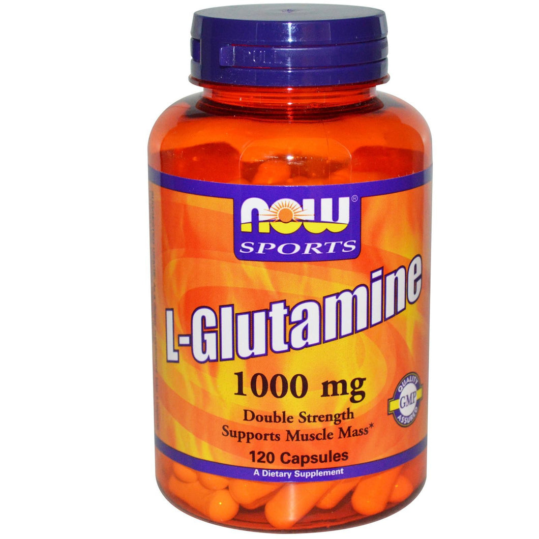 Now Sports, L-Glutamine, 1000mg, 120 Capsules ... VOLUME DISCOUNT