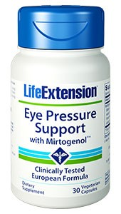 Life Extension Eye Pressure Support with Mirtogenol 30 Veggie Caps