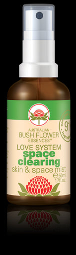 Australian Bush Flowers, Space Clearing Skin & Space Mist, 50 ml