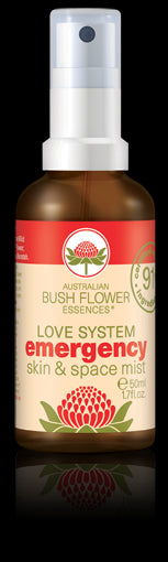 Australian Bush Flowers, Emergency Skin & Space Mist 50 ml
