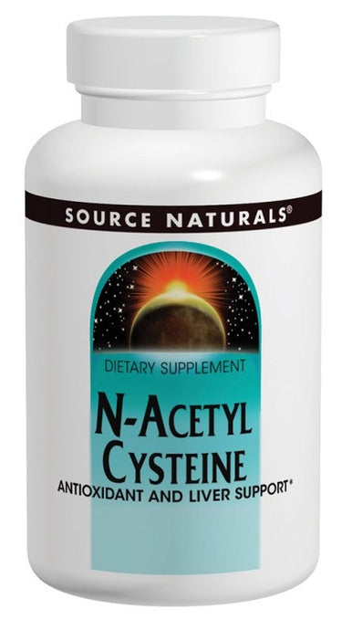 Source Naturals N-Acetyl Cysteine 1000 mg 120 Tablets
