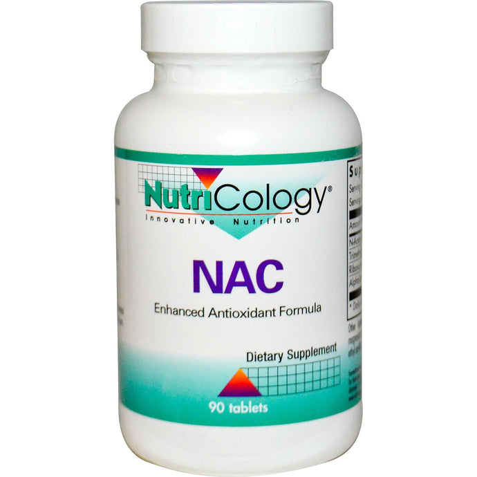 Nutricology, NAC, 90 Tablets