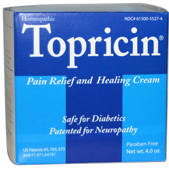 Topricin Pain Relief & Healing Cream 120 g 4.0 oz