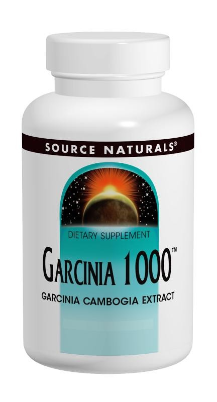 Source Naturals, Garcinia 1000, 90 Tablets - Dietary Supplement