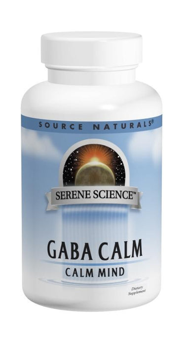 Source Naturals, GABA Calm, 120 Tablets