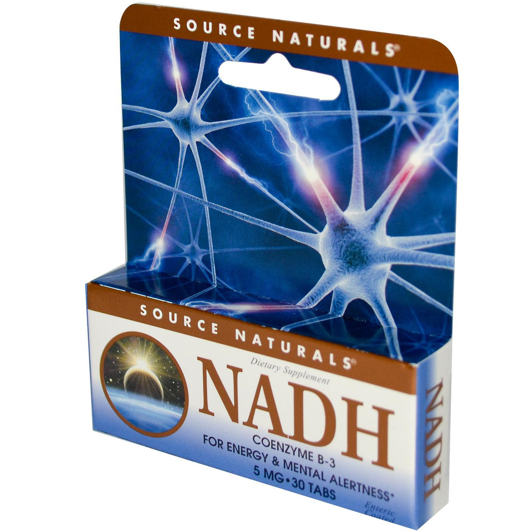 Source Naturals, NADH, Co Enzyme B-3, 5 mg, 30 Tablets