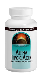 Source Naturals Alpha Lipoic Acid TIME RELEASE 300mg 60 Tablets
