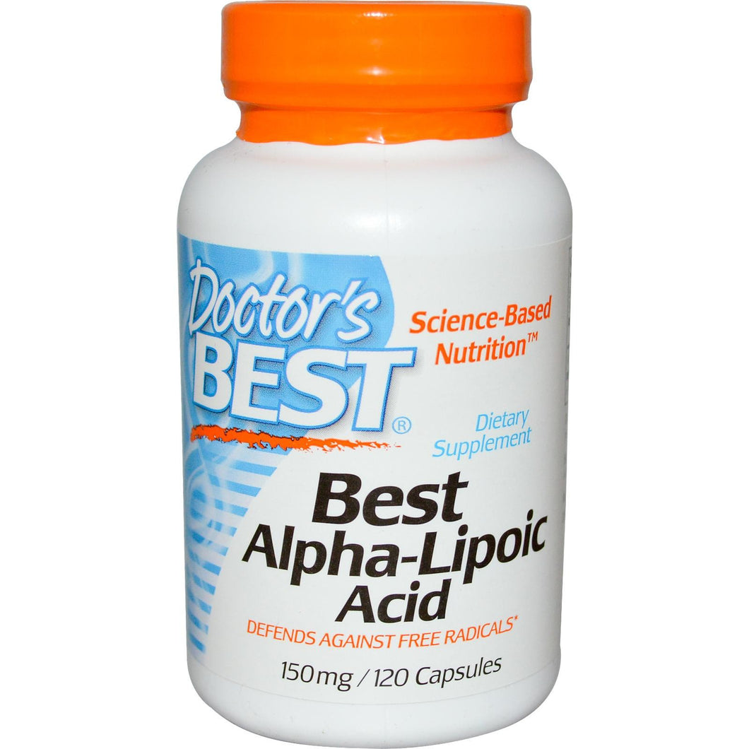 Doctor's Best, Best Alpha Lipoic Acid, 150mg, 120 Capsules