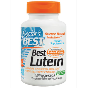 Doctor's Best, Best Lutein, 10mg, 120 VCaps ... VOLUME DISCOUNT