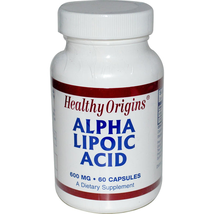 Heathy Origins Alpha Lipoic Acid 600 mg 60 Capsules