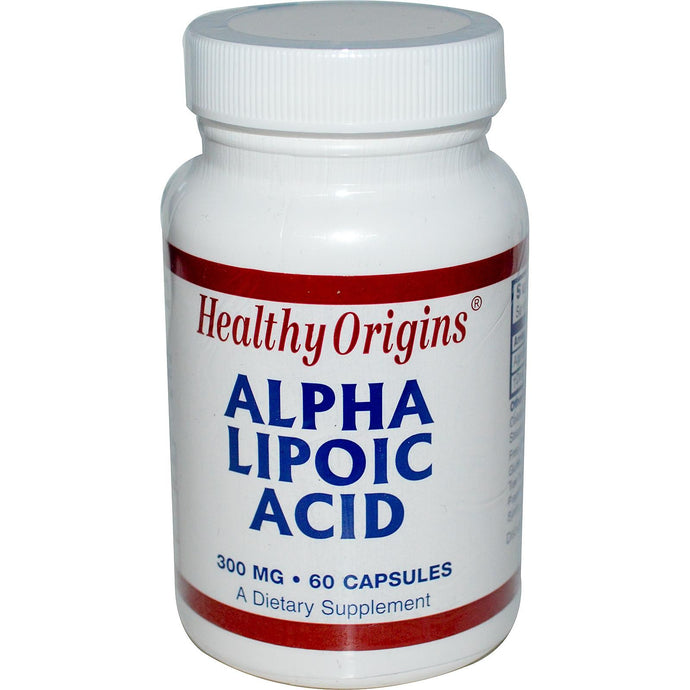 Healthy Origins, Alpha Lipoic Acid, 300 mg, 60 Capsules