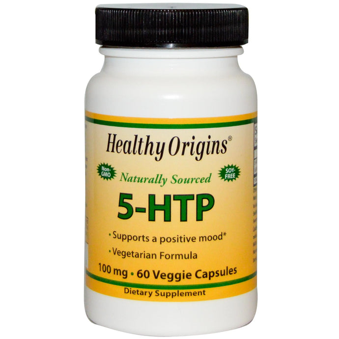 Healthy Origins, 5-HTP, 100 mg, 60 Veggie Capsules