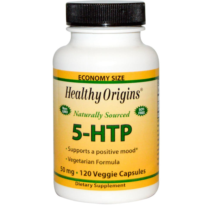 Healthy Origins, 5-HTP, 50 mg, 120 Veggie Capsules