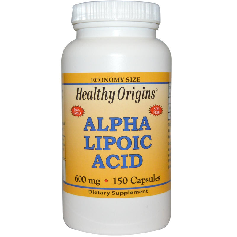 Healthy Origins Alpha Lipoic Acid 600mg 150 Capsules
