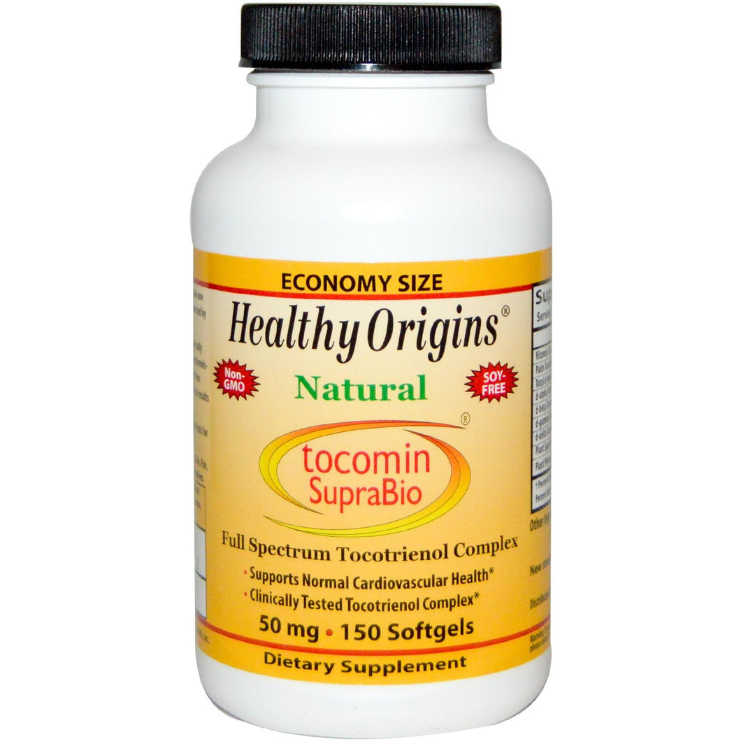 Healthy Origins Tocomin SupraBio Red Palm Oil 50mg 150 Softgels