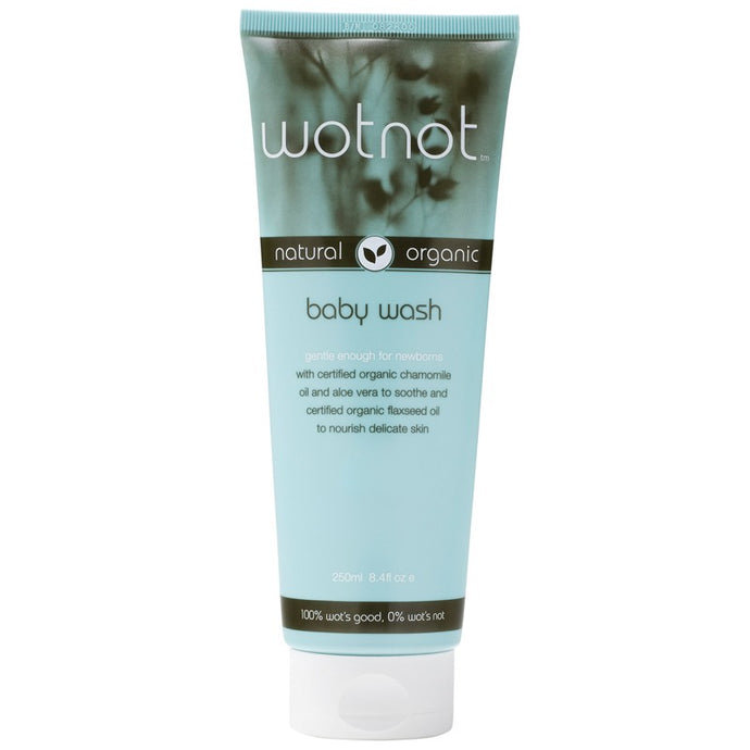Wotnot, Baby Wash, Organic, 250 ml