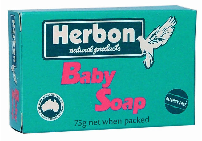 Herbon Natural Products, Baby Soap, 75 g