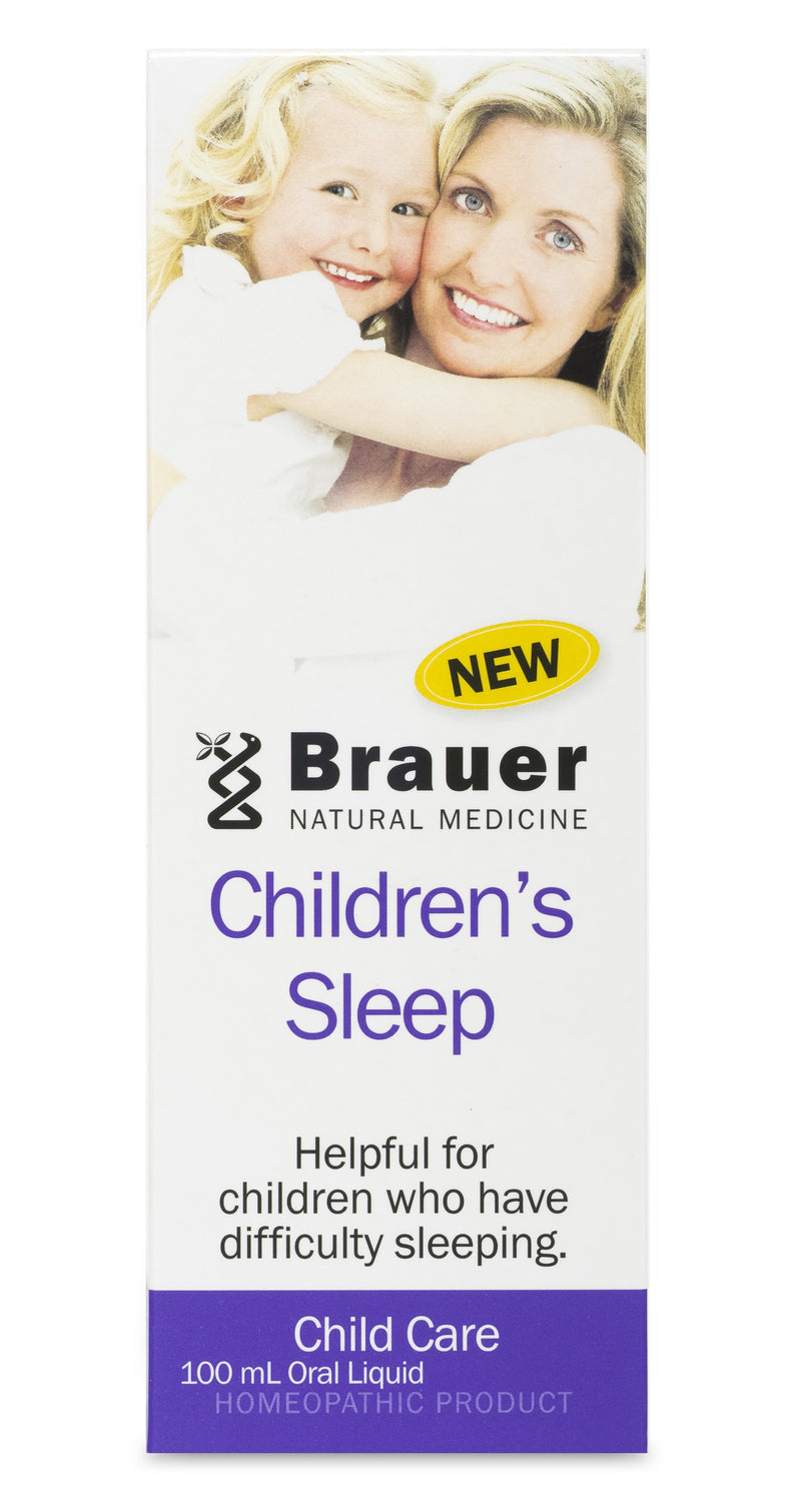 Brauer Natural Medicine, Baby & Child, Sleep, 100 ml