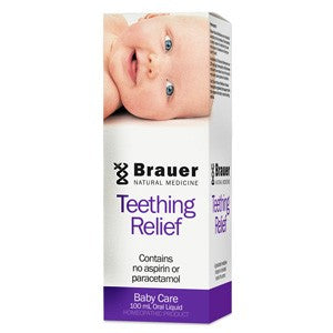 Brauer Natural Medicine, Baby & Child, Teething Relief, 100 ml