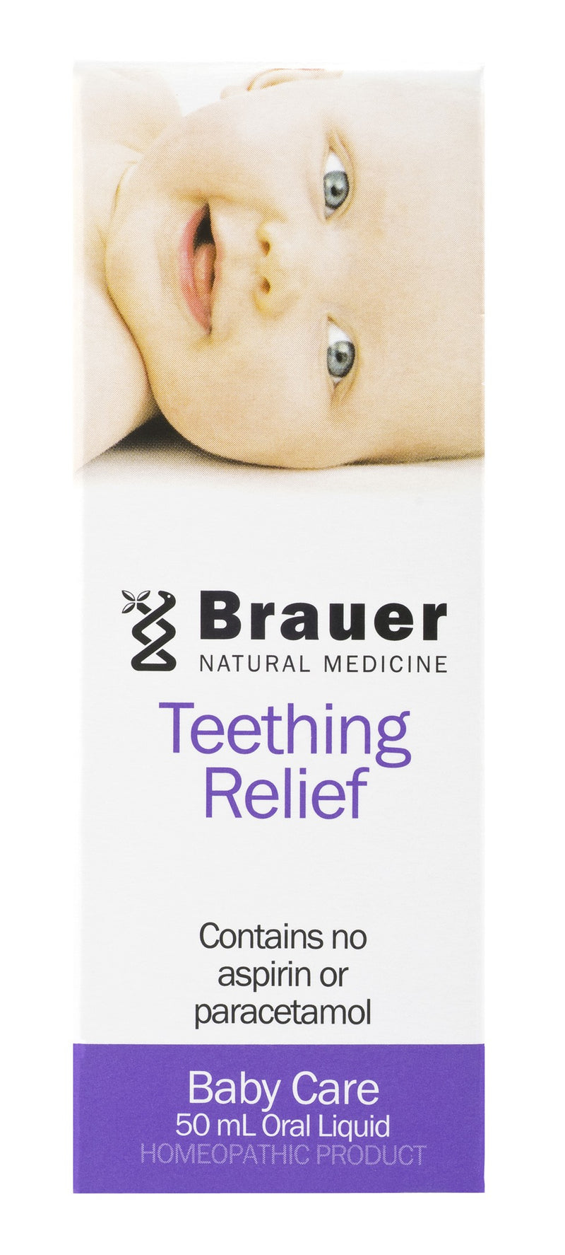 Brauer Natural Medicine, Baby & Child, Teething Relief, 50 ml