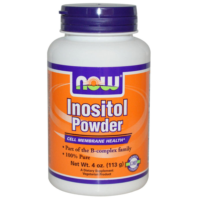 Now Foods, Inositol Powder, 113 g, 4 oz