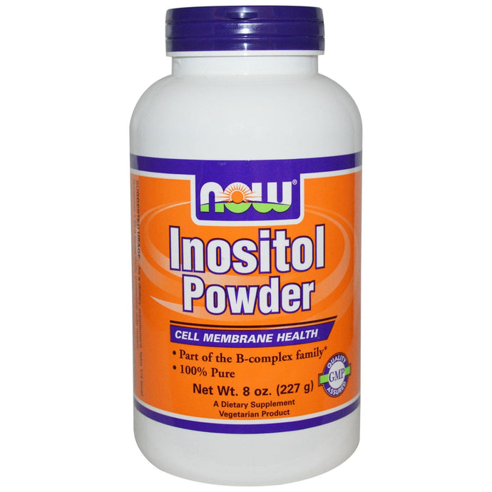 Now Foods Inositol Powder 227 g  8 oz