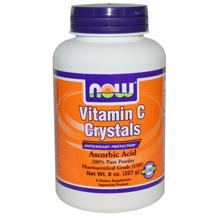 Now Foods, Vitamin C Crystals, 227 g, 8 oz