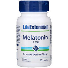 Load image into Gallery viewer, Life Extension, Melatonin, 1 mg, 60 Capsules
