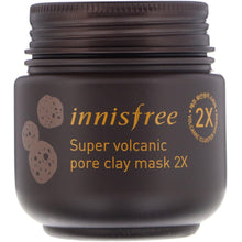 Load image into Gallery viewer, Innisfree, Super Volcanic Pore Clay Mask 2X, 3.38 oz (100 ml)