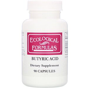 Cardiovascular Research, Butyric Acid, 90 Capsules