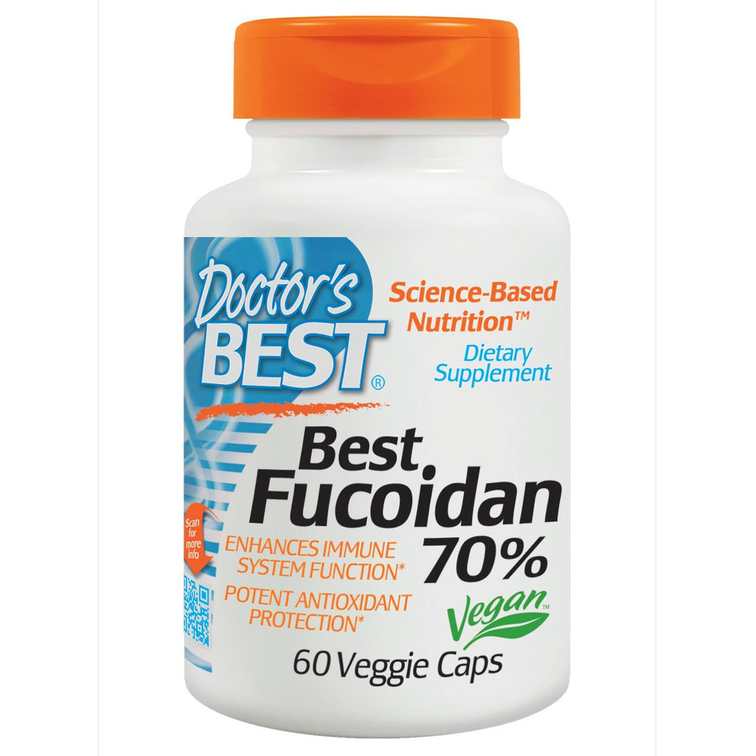 Doctor's Best Fucoidan 70% 60 VCaps - Dietary Supplement