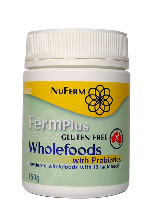 NuFerm FermPlus Gluten Free Wholefoods with Probiotics Powder 150 g