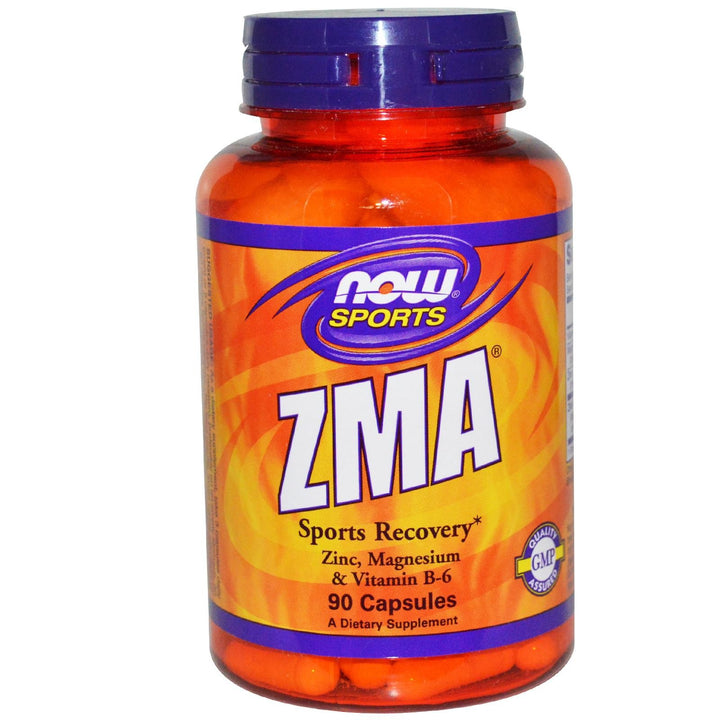 Now Sports ZMA Sports Recovery 90 Caps - Dietary Supplement