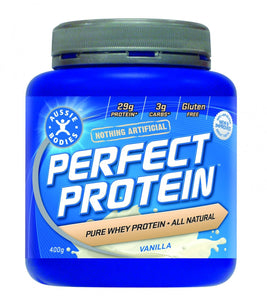 Aussie Bodies Perfect Protein Vanilla 400g - Protein Supplement