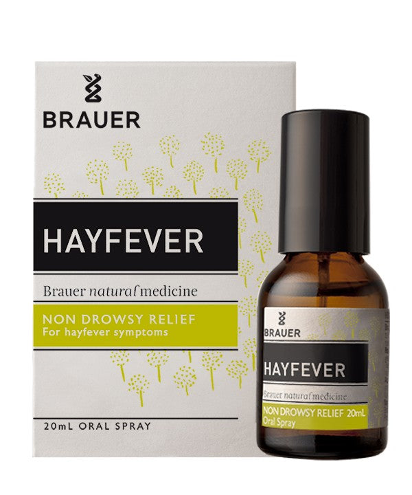 Brauer Natural Medicine, Hay Fever, Nasal Spray, 20 ml