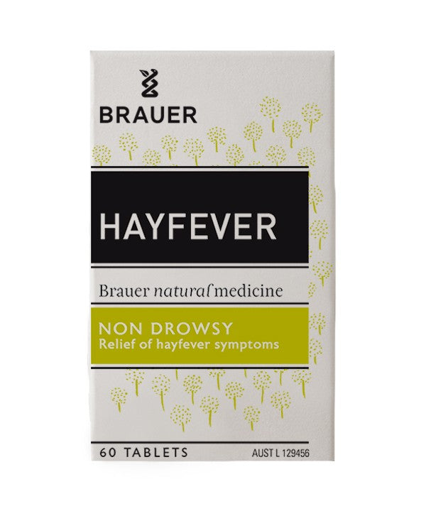Brauer Natural Medicine, Hayfever Relief, 60 Tablets