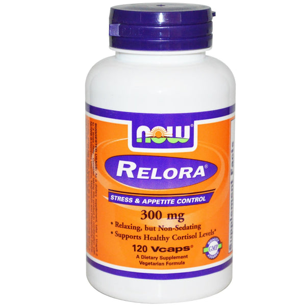 Now Foods Relora 300mg 120 VCapsules - Dietary Supplement