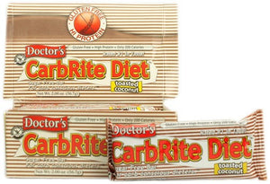 Universal Nutrition, Doctor's CarbRite Diet Bar, Sugar-Free Toasted Coconut, 12 Bars, 56.7 g Each, 2.0 oz